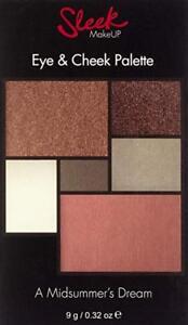 RRP £10 Sleek MakeUP Eye and Cheek Palette A Midsummers Dream blusher eyeshadow,