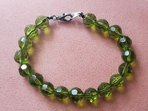 "FASHION * HANDMADE * BRACELET 8"",10 mm BEADS, Handmade in USA"