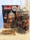 Budweiser Honoring Tradition And Courage Series Navy Stein CS381