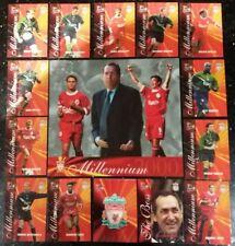 Futera 2000 Liverpool 50 Card COMPLETE SET + XL Millennium Centre Piece Card