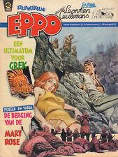 STRIPWEEKBLAD EPPO 1982 nr. 48 - COMMANDANT GREK / LEONTIEN CEULEMANS /AGENT 327