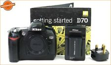 Nikon D70 Digital SLR Camera Body, Battery &  Charger  FREE UK POST