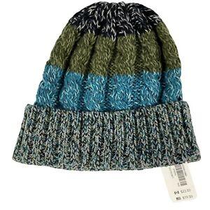 NWT Gymboree Knit Beanie Cap Hat Sweater Striped Warm Boys Girls XS S