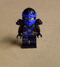 Lego Ninjago Figur - Jay Torso Emblem Armor ( blau schwarz Rüstung Helm ) Neu