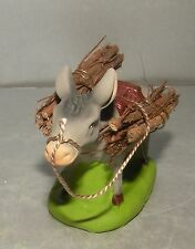 New Donkey Carrying Wood, 6-7 Cm Santons Didier