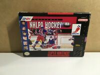 NHLPA Hockey 93 (Super Nintendo Entertainment System, 1992) CIB