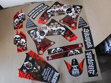 SIKSPAK  TEAM GRAPHICS KAWASAKI KX250F KXF250 2009 2010 2011 2012