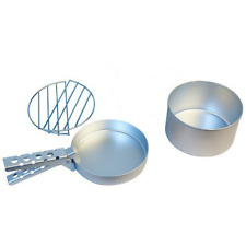 Ghillie Kettle Maverick Cook Kit - Silver Anodised