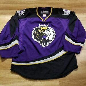 Authentic Team Issue MiC AHL Manchester Monarchs Jersey Reebok Edge 2.0