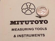 Mitutoyo pinion 101730 dial caliper for 505-626 inspection machine shop