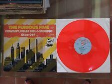 Farbiges Vinyl LP (pink Vinyl) The furious Five - Cowboy, Melle Mel & / Step off