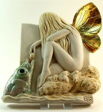 Garry White Wall Plaque - Sticlkeback Fairy - Signed