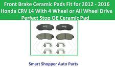 Front Brake Pads Fit for 2012 2013 2014 2015 2016 Honda CRV L4 4WD All Wheel Dri