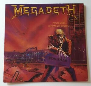 MEGADETH  PEACE SELLS...BUT WHO'S BUYING  1986  CAPITOL RECORDS