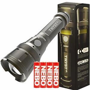 Nebo 6372 Twyst Z Flashlight Torch Lamp GREY DIY & Tools, Home & Furniture