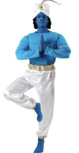 Aladdin Genie Costume Adult Men's Standard Size New in Package