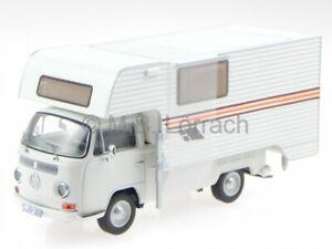 VW T2a camion plat Camping Tischer beige véhicule miniature 11356 Premium C. 1/4
