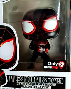 Funko Pop Spider-Man 541 Miles Morales Gamer Marvel Avengers Movie Vinyl Figure