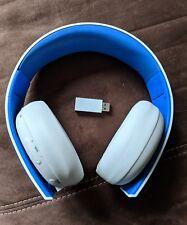 Wireless Stereo Headset 2.0 für Playstation 4 PS4 weiß