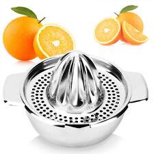 Manual Orange Hand Press Citrus Fruit Lemon Juicer Juice Squeezer N2CX