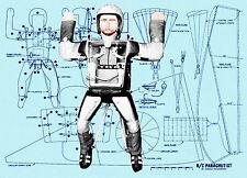 Build a RADIO CONTROL PARACHUTITIS for Radio Control Planes F/S Plrinted Plans