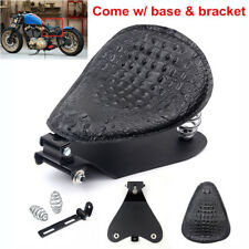 Bobber Spring Solo Seat For Honda Shadow 1100 750 ACE Aero Phantom Sabre Spirit