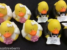 Wedding  flower girl Mini Rubber Ducky  3 doz set of 36 Party favor Gift New