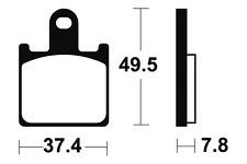 Plaquettes de frein Bendix MF338 Métal fritté pour KAWASAKI