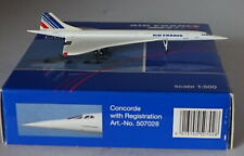 HERPA WINGS 507028 BAe Concorde Air France F-BVFB 5th Version in 1:500 Scale