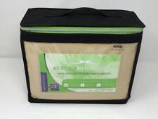 New Sheex Eco Sheex 100% Viscose From Bamboo King Sheet Set Honey
