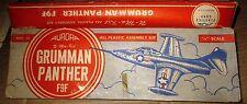 AURORA'S FIRST [1952] GRUMMAN F9F PANTHER FLIP BOX   [W ISSUES!]