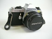 Pentax ME Super 35mm SLR film camera w/SMC Pentax-M 50mm f1.7 lens