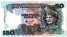 MALAYSIA RM50 7TH AHMOD DON AQ3073408 GEM UNC