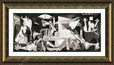 Guernica by Pablo Picasso | Framed canvas | Wall art print artwork paint HD