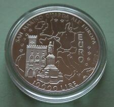 Münzen San Marino 1000 Lire 1997 R Km#368 Unc Millenium Building Of Castle G1595