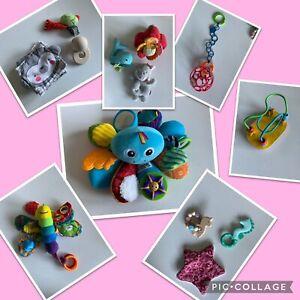 Baby Spielzeug Eichhorn, Lamaze, Goki, Haba usw.