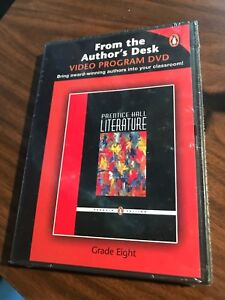 Prentice Hall literature From The Author's Dest video program dvd grade 8
