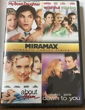 My Boss's Daughter, Wishful Thinking, About Adam, Down to You (DVD, 2011)