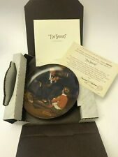 Bradford Exchange Norman Rockwell The Tycoon Heritage Collector Plate Knowles