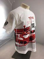 2010 Toyota Grand Prix of Long Beach souvenir racing tshirt Large White