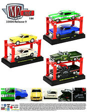 AUTO LIFT SERIES 9,SET OF 6 CARS  1/64 BY M2 MACHINES 33000-09
