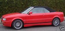 Audi 80 Cabrio Verdeck Stoff schwarz neu B3 B4    A