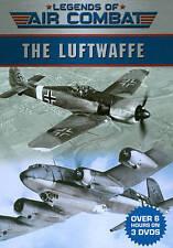 Legends of Air Combat: The Luftwaffe (DVD, 2013, 3-Disc Set, Tin Case)