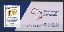 Djibouti 2017 MNH Chamber of Commerce 110th Anniv 1v M/S Business Stamps
