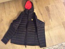Scuderia Ferrari men's padded jacket Size M black