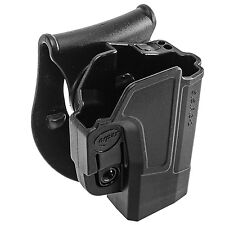 Orpaz Glock 19 Left Hand Paddle Holster Fits Also Glock 17, 22, 23, 26, 27, 34
