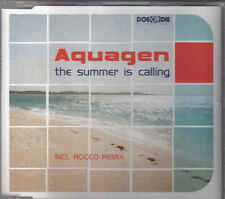 Aquagen-The Summer is Calling cd maxi single 5 tracks