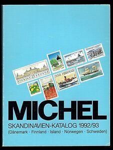 Michel Skandinavien-Katalog 1992/93