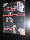 DIE HARD--COMMANDO--SPEED 3 DVD SIGILLATI