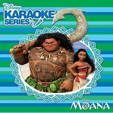 DISNEY KARAOKE SERIES: MOANA - CD + graphics -  New Sealed